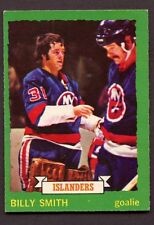 1973-74 OPC O PEE CHEE # 142 Billy Smith ROOKIE RC