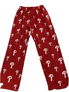 Phillies Mens Ultra Soft Fleece Pants - Size L