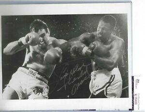 Larry Holmes Professional Boxing Champion Autographed 8x10 Photo JSA COA