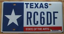 Texas 2005 STATE OF THE ARTS GRAPHIC License Plate HIGH QUALITY # RC6DF