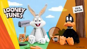 Looney Tunes Plush Buddy Daffy Duck Bugs Bunny