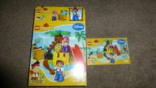 LEGO DUPLO 10604 Jake and the Never Land Pirates Treasure Izzy Slide extra Cubby