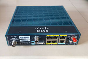 Cisco C819G-4G-G-K9 Router with 4G/LTE for Global 800/900/1800/2100/2600