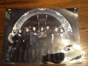 """STARGATE DAVID BLUE SIGNED 16"""" x 12"""" PHOTO  CONTINUUM. OBTAINED AT CONVENTION"""