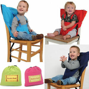Safe travel Portable New Baby High Chair belt Seat Infant Sack Sacking Kids Seat