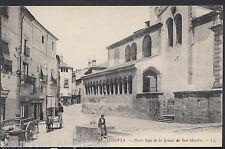 Spain Postcard - Segovia - Parte Baja De La Iglesia De San-Martin  RT836