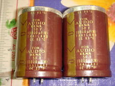 2 X SPECIAL EDITION ELNA FOR AUDIO 10000uF 50V ELECTROLYTIC CAPACITOR