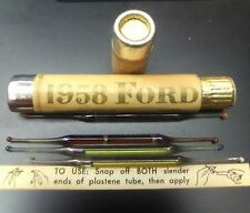 1958 Ford Motor Co. Promo Adv. Sample Sz Exquisite Personality Perfume VERY RARE