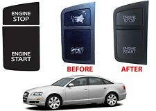 Replacement Ignition Switch Button Sticker For 2004-2011 Audi A6 New Free Ship