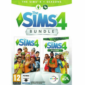THE SIMS 4 Bundle - Base Game + Seasons Expansion Pack - PC/Mac Download