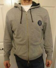 Converse All Stars - Grey - Hoodie - Lightweight Sweater Top Jumper *see advert