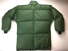 FROSTLINE KITS (USA) Vintage Down Puffer Jacket Coat Green Small EUC