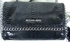 MICHAEL Michael Kors Oversize Chelsea Python-Embossed Clutch Bag