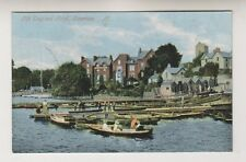 Cumbria postcard - Old Engllish Hotel, Bowness