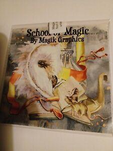 Magik Graphics School of Magic Cd Rom