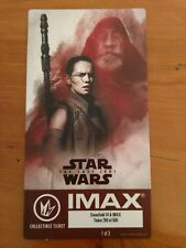 Star Wars: Last Of The Jedi Regal Collectible Ticket