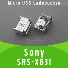 ✅Sony SRS-XB31 Bluetooth Lautsprecher Micro USB DC Buchse Ladebuchse Strombuchse