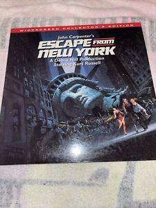 John Carpenter's Escape from New York (Laserdisc, RARE, OOP)