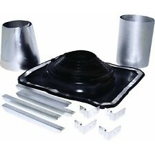 """5"""" To 8"""" Galv Rubber Boot Metal Roof Chimney Stove Pipe Flashing Kit 200275"""