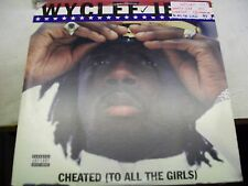 """Wyclef Jean-Cheated(To All The Girls)-12""""-Advance Promo:What's Clef Got to Do..."""