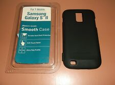 Body Glove Smooth case for T-Mobile Galaxy S II, Matte Black, hard shell, NEW