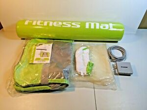 DreamGEAR 5-in-1 Fitness Bundle For Nintendo Wii Fit Travel Bag Mat Battery Pack