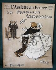 L'Assiette au Beurre #152 La Première Communion 1907 French Poulbot Art