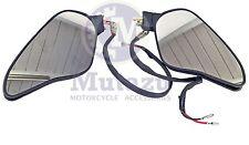 Turn Signals LED Light Mirrors Fits Ducati 848 1098 1098S 1098R 1198S 1198R
