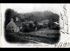 VALLEE de BROUAINS prés de SOURDEVAL 50 : CORPS de FERME , LE DESERT en 1903