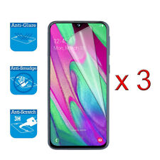 For Samsung Galaxy A40 - Screen Protector Cover Guard LCD Film Foil x 3