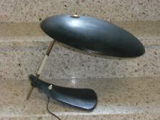Designer-Tischlampe Auböck Ära-Messing mit Metall schwarz in Originalzustand