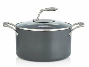 TUPPERWARE CHEF SERIES II 6.2 QT./5.8 L CASSEROLE Pan Pot with Glass Lid NEW
