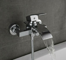 Waterfall Cascade Bath Shower Mixer Tap Single Lever Wall Mounted 94