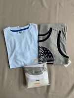 NWT Gymboree 10-12 (L) Boys Pk Undershirts And 2 Shirts