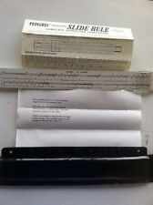Pedigree by Empire slide rule, with manual and holding plastic