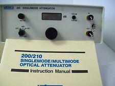 Intelco 200 Singlemode Attenuator Biconic