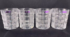 4 NIB - Marquis by Waterford Crosby Double Old Fashioned Crystal Glasses