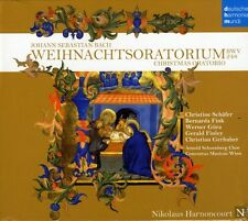 Nikolaus Harnoncourt - Bach J.S: Weihnachtsoratorium [New CD] Germany - Import