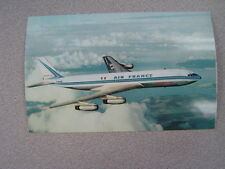 Air France - Postcard 1962? - Boeing 707 Intercontinental - Paris, France