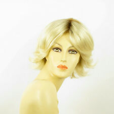 short wig for women very clear golden blond ref: LISA ys PERUK
