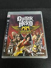 Guitar Hero: Aerosmith (Sony PlayStation 3, PS3) Brand New Factory Sealed
