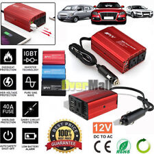200W 350W 12V DC to 110V AC Car Power Inverter 2 USB Outlets Auto Truck Adapter