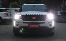 2x For Ford Explorer 2016 2017 LED Daytime Day Fog Lights DRL Run lamp New