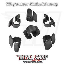 10x Abdeckstopfen Motorhaube Dämmmatte Clips VW Audi Skoda Seat 1H586384901C