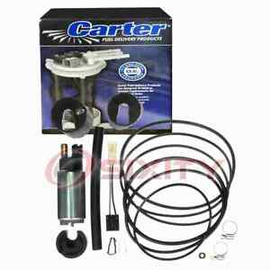 Carter In-Tank Electric Fuel Pump for 1999-2004 Mitsubishi Montero Sport mg