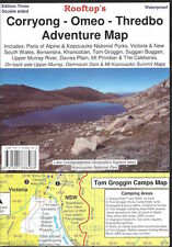Rooftop Corryong - Omeo - Thredbo Adventure Map *FREE SHIPPING - NEW*