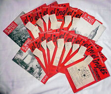Lote 17 revistas -EL INGLES AMENO- años 50