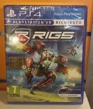 RIGS: Mechanized Combat League VR PS4 NUOVO ITA