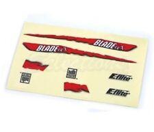 Eflite Blade MCX Red Graphic Decal Sticker Sheet EFLH2229