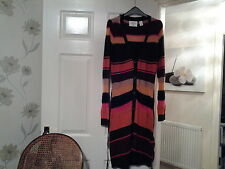 H&M Button V Neck Striped Jumpers & Cardigans for Women